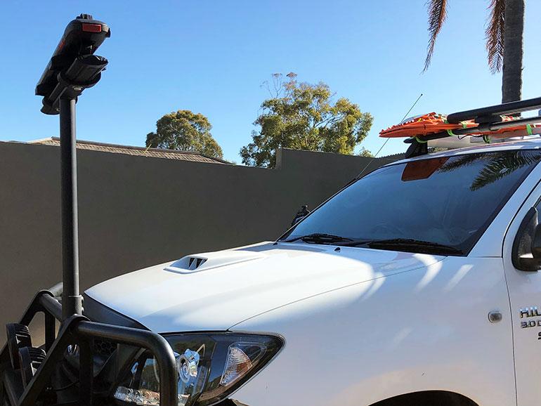 SUPボード・サーフボード専用のキャリアを設置