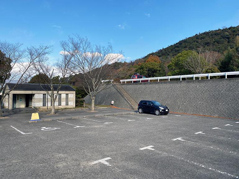 橘の丘総合公園 駐車場