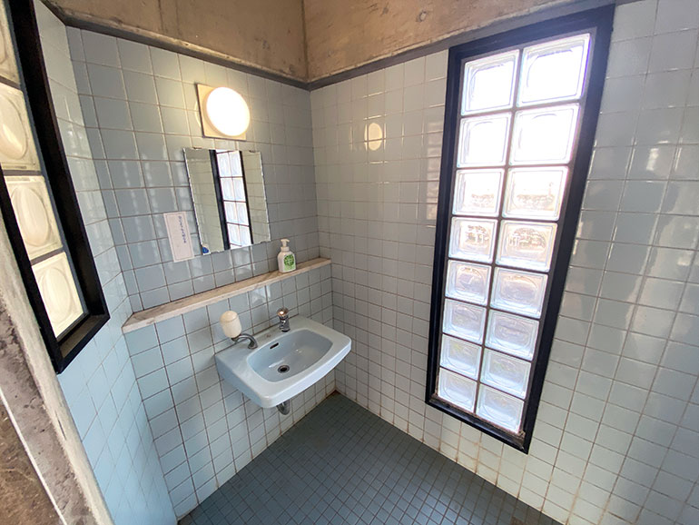橘の丘総合公園 園内 トイレ