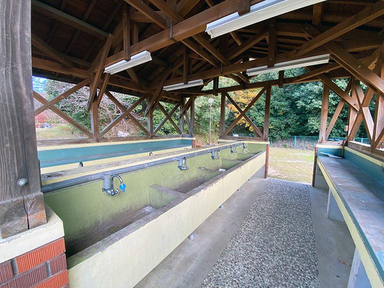 橘の丘総合公園 キャンプ場 炊事場