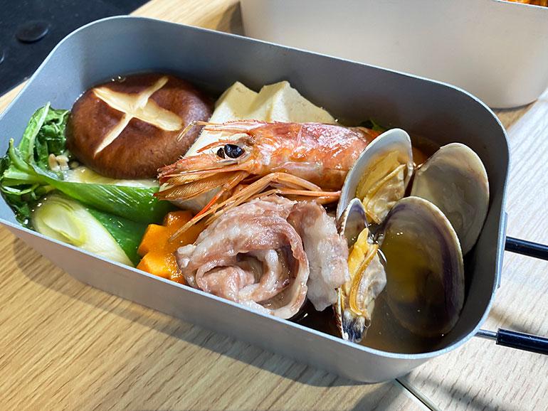 メスティン 鍋料理