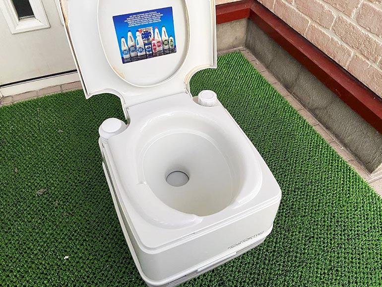 カセットトイレ