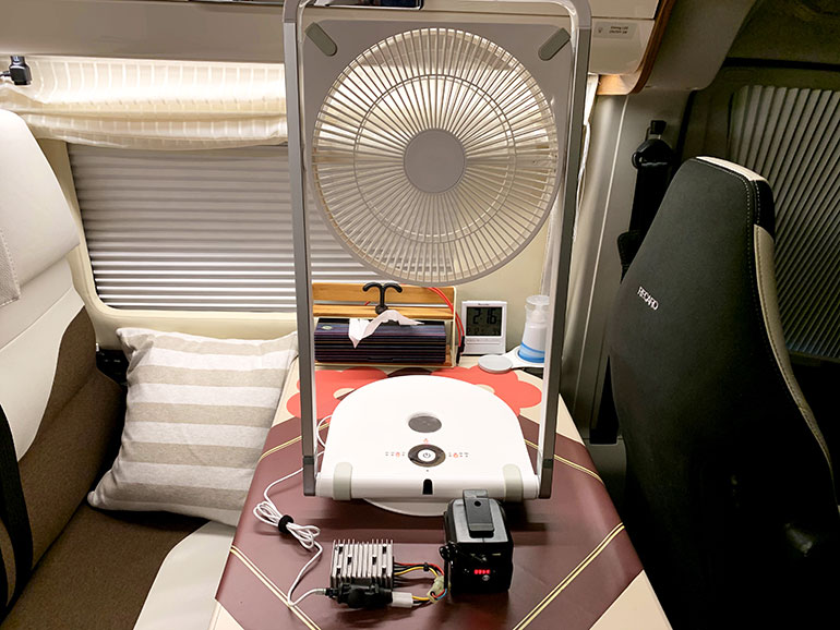 家庭用のDCモーター扇風機
