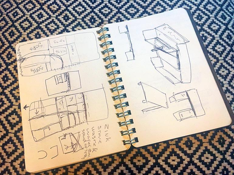 ノート DIY設計図
