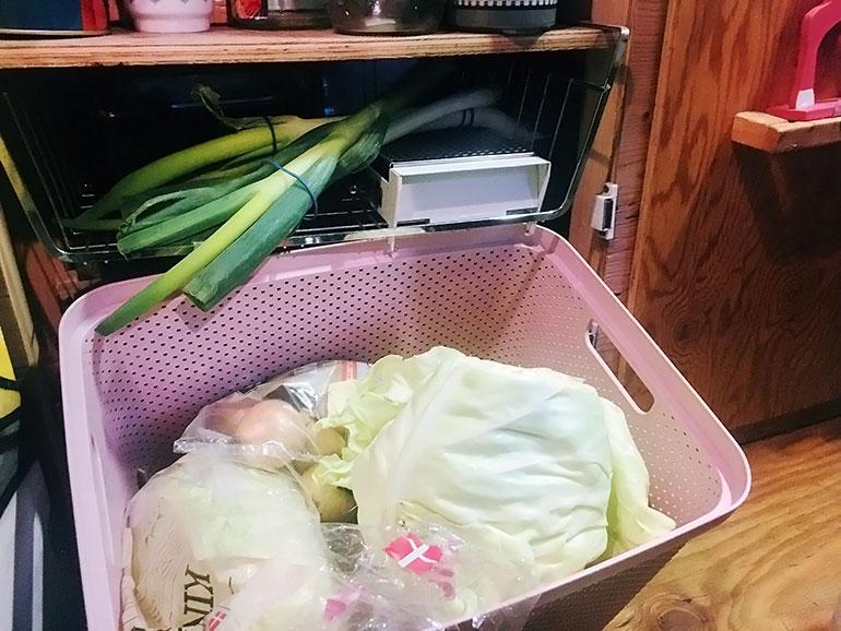 野菜 収納