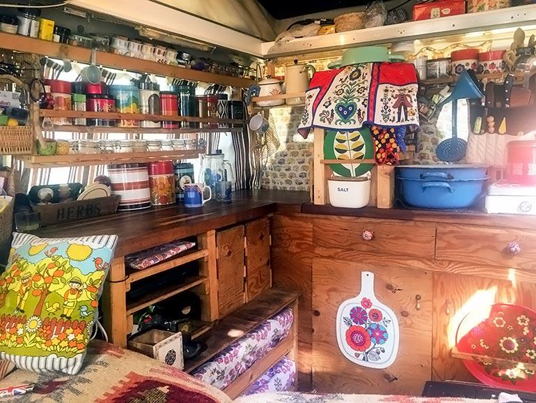 バン キッチン DIY