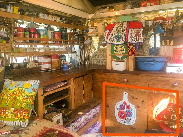 バンライフ  キッチン