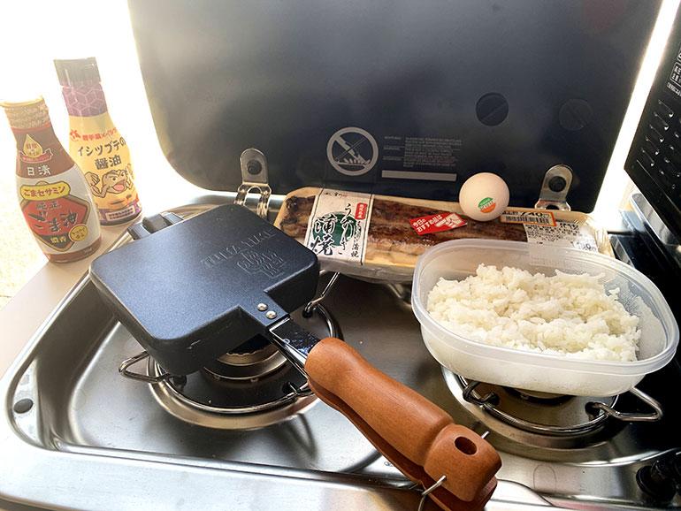 鰻と卵焼きの焼き飯 作り方