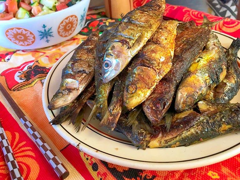 魚のグリル