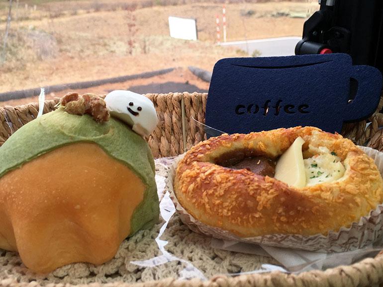 八ッ場ダムのパン