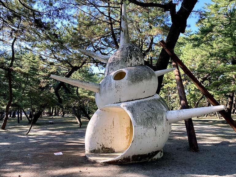 種崎千松公園 遊具
