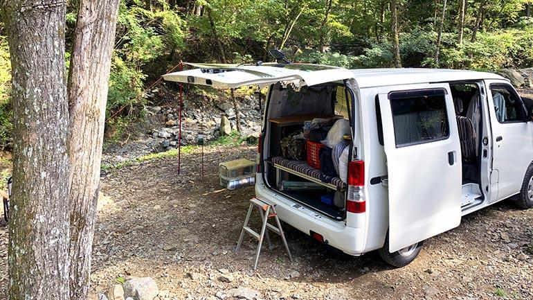 車中泊キャンプ おすすめアイテム