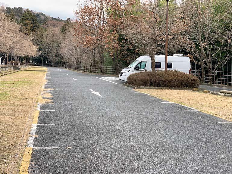 宮ヶ瀬ダム駐車場