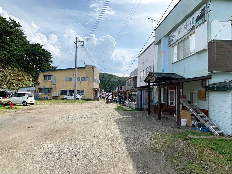 大島の民宿や食堂