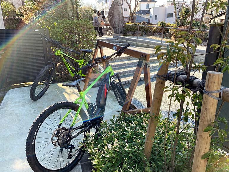 メリダレンタルサイクルショップのE-Bike