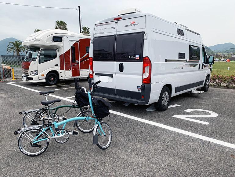 瀬戸田サンセットビーチの駐車場
