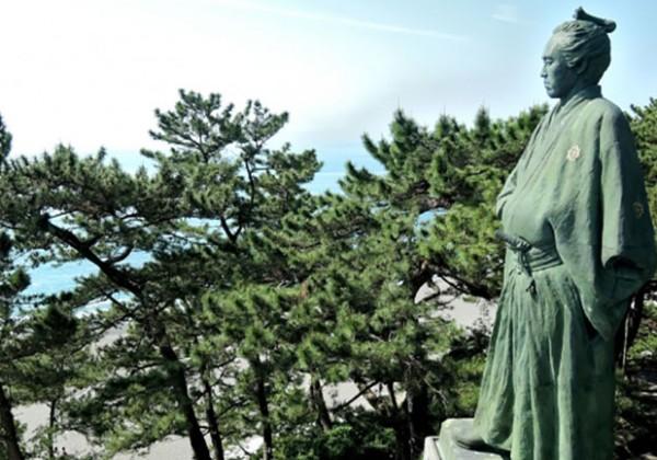 桂浜 坂本龍馬像