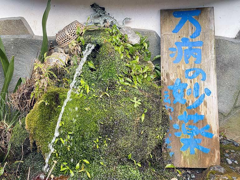 無料の湧水スポット
