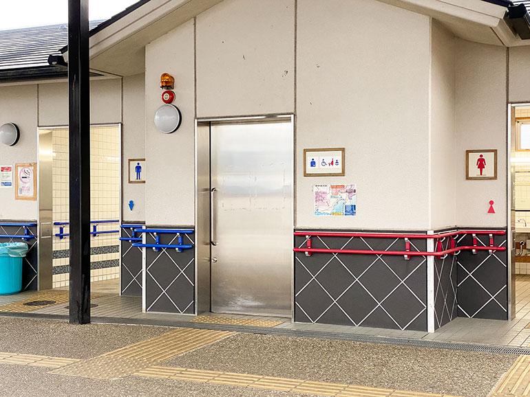 道の駅やSAの公衆トイレ