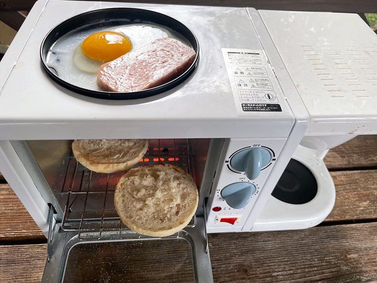 オーブントースター複合機