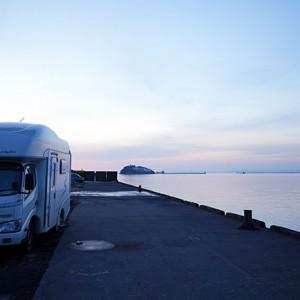 北海道風景キャンピングカーtop