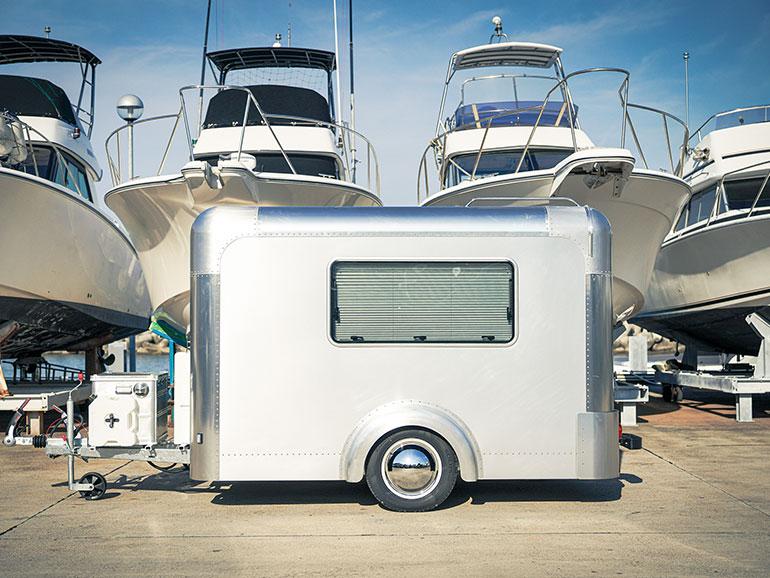 X-cabinとヨット