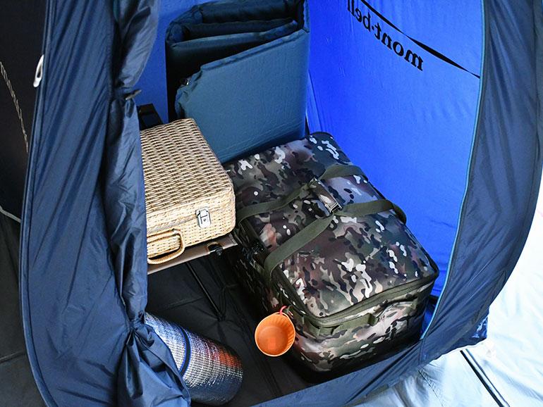 荷物用テント