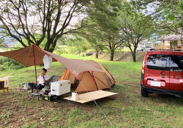 キャンプ車中泊top