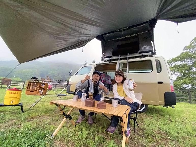 NONIWA号とパスファインダー2 キャンプ中2