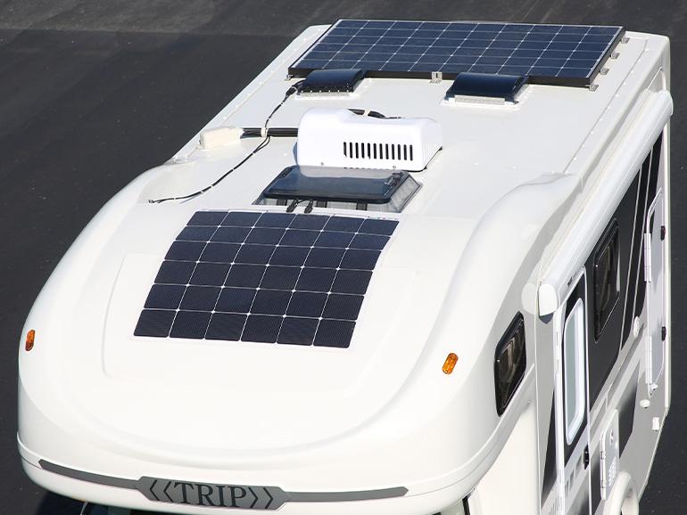 ダイレクトカーズ TRIP Ⅱ Premium Mega ソーラーパネル