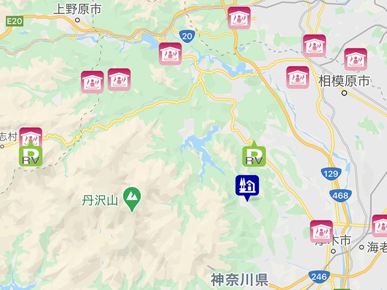 道の駅+車中泊マップdrivePmap v3