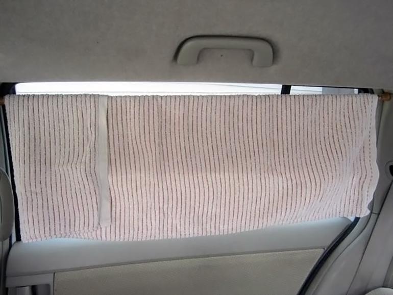 車内カーテン1