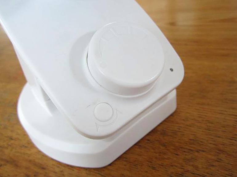 小型扇風機 ボタン