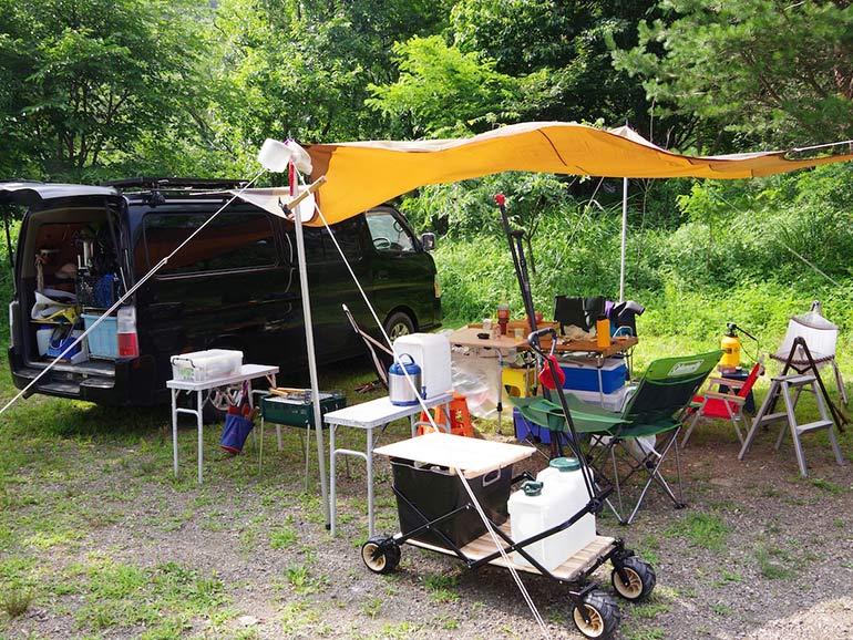 西湖キャンプ