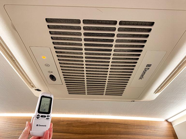 AC230Vタイプのエアコン