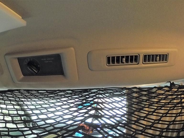 車内エアコン