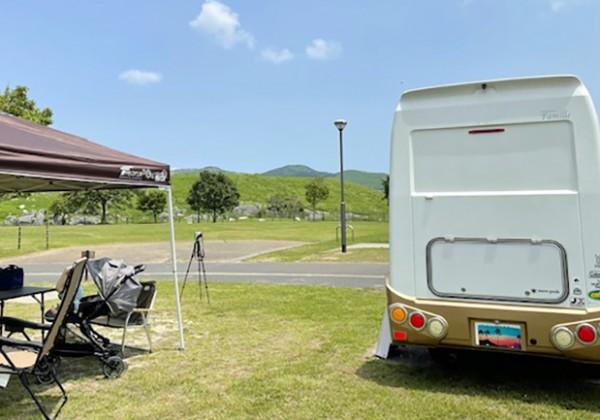 夏のキャンプ風景TOP