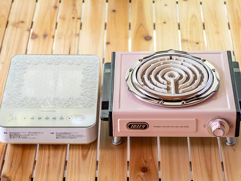 IHヒーターと電気コンロ