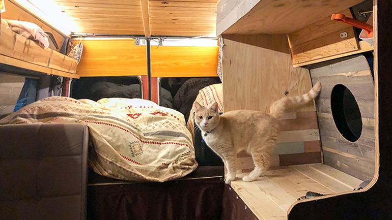 寝室スペース