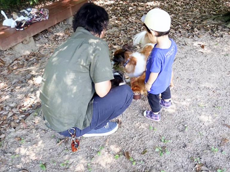 ペットと親子